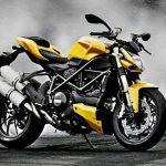 Motor Ducati Streetfighter 848