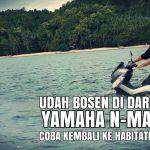 Gila Modifikasi Yamaha NMAX Bisa Jalan Di Air