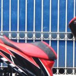 Gambar Modif Honda Vario Techno 125 Warna Hitam Merah