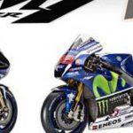 Tampang Motor Yamaha YZRM1 di MOTOGP 2016