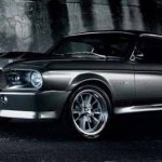Mobil Mustang Shelby GT500 Striping Balap