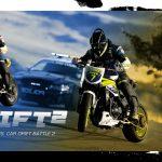 Video Motor Drag Lawan Mobil Polisi Tipe Mustang