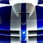 Mobil Dodge Viper Biru Striping Balap