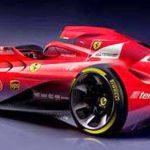 Beginilah Tampang Mobil Balap F1 Untuk Masa Depan