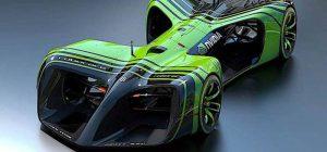 mobil balap masa depan